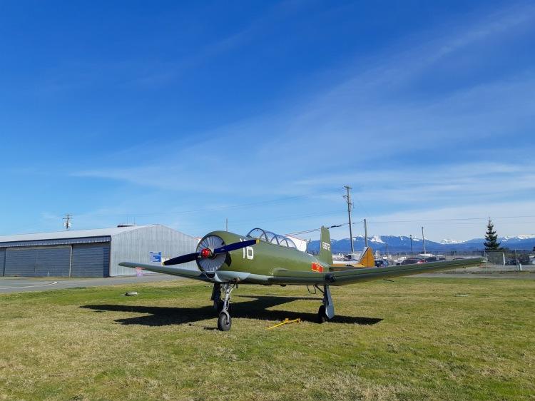 Nanchang CJ-6 at Abbotsford Airport